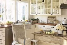 Primitive kitchens / by Kathy Detwiler Harris