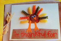 Thanksgiving Crafts / by Buzz Bishop