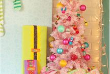 Pastel Christmas Decor / by Kina Miller