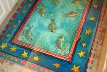 Floorcloth / by Louise Bonenfant