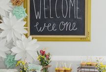 Baby Shower / Florida & Oklahoma baby shower ideas.  / by LilyAsher