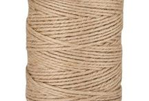 Jute Twine / Buy from us on our website - BurlapFabric.com / by BurlapFabric.com