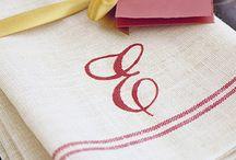 Kitchen towels / by Barb Wohletz