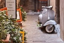 Vespa on the road / by TIASIX ...