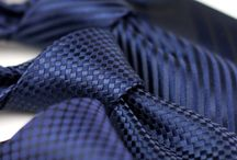 Navy Blue Ties / Our favorite looks and style inspiration for wearing one of the most classic menswear pieces: The navy blue necktie. / by Bows-N-Ties .com