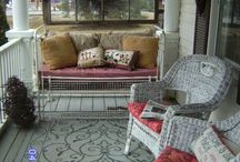 CRAFTO PORCH DECOR / by MrsPolly Rogers
