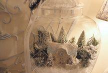 Christmas Glitter Box Village / by Regina Left Phalangie