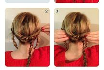 Hairstyles / by Libby Johnston