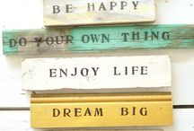 Quotes to live by! / by Jessica