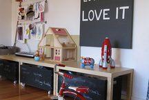 Design ~ Playroom Ideas / by Amanda Boerst