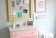 Kid Decor / Bedroom, bathroom, and playroom ideas for kid spaces. / by Carrie Honeycutt