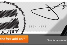 Online Add-Ons / by Zadin Design