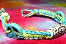 PsychHeadz / We are PsychHeadz, bringing you 100% natural hemp jewelry in a variety of colours and designs. We can customize jewelry to your own satisfaction, allowing you to choose your own hemp cord colours and bead colours (if you choose to have them!) Hemp jewelry is suitable for both men and women, children or adults and is easily wearable on any occasion. They're comfortable, casual and beautiful to wear; you won't be disappointed! / by Kristina Krause