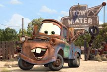 Tow Mater / We just LOOOVE Tow Mater, he even talks just like we do.lol.  / by Kim Rice