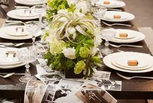 Black & White Wedding / Wedding inspiration in timeless black and white. / by Anna Skye