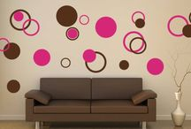 Abstract Wall decals / by DezignWitha Z