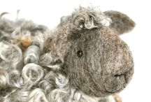 Needle Felted Sheep / by Debbie Perry