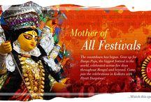 Durga Puja 2014 in Kolkata / Truth about Durga puja and the goddess. / by Hyatt Regency Kolkata