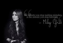 Miley Cyrus / by Liz Gunty