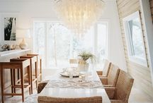Beach House Lighting / When it's time to come inside from the shore.... Bring a little of the coast with you and light up your space with lighting that accents your beach home. / by Caron's Beach House
