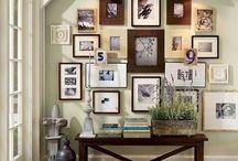 Wall Photo Gallery Ideas / by Tara Kuczykowski