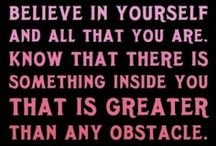 Motivational Quotes / Need some motivation to exercize, stick with that diet plan, or just to make it through till Friday! LOL / by Mac-n-Mo's