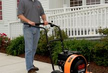 Leaf and Debris equipment / Equipment to move, suck up and otherwise pulverize pesky leaves! / by Scag Mowers