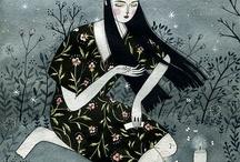 Ilustraciones / by marcelo molina