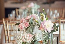 Ideas... Wedding centrepieces / by Kurtzys Flowers & Events Styling