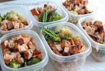 Meal planning  / Meal plans for the future. Stay focused, stay positive, stay healthy. / by Roxana Arcos