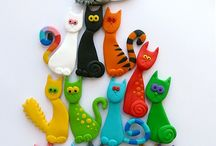 Cats { >^..^< }  / Cats/Cat theme  / by Mary Fangman