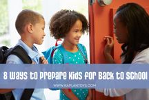 Back to School! / Strategies for making sure little ones are ready to go for the new school year! / by Kaplan Toys