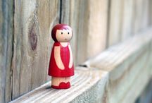 Peg dolls and Bendy too! / by Kathleen Nelson