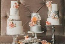 Wedding {peach} / by {glitter + whiskey}