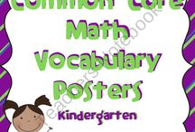 kindergarten math / by Lisa Lee