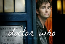 Doctor Who ~ David Tennant / by Christina Bennett