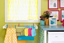 LaundryRoom Design Ideas / by Trisha Frey