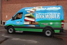 Bookmobile / Our beautiful mobile branch was made  possible by the generous contributions of Rotary East Hartford, Rotary International, Rotary Calcutta Maidan, Goodwin College, Freightliner, Joseph Merritt Company and more. / by East Hartford Public Library