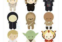 Star Wars / For My Star Wars lovin' Fam.  / by Patricia Mata