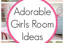 Squeakers big girl room / by Greerbo Mcdonald