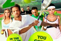 """2nd Serve (Movie) / (Short Synopsis) """"A former tennis pro forced to work at a public recreation center must regain his self-respect and lead his team of oddball amateurs to victoryin a prestigious, annual tournament showdown."""" (Starring) Josh Hopkin (TV's Cougar Town, The Perfect Storm), Cameron Monaghan (TV's Shameless), Kevin Sussman (Burn After Reading, A.I. Artificial Intelligence), Guillermo Díaz (The Terminal, Half Baked), and Dash Mihok (Silver Linings Playbook, I Am Legend). / by Green Apple Entertainment"""