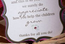 Teacher Appreciation Gifts / by A Savings WOW!