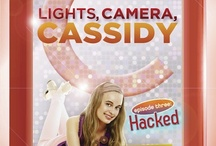 Lights, Camera, Cassidy! / iCarly meets The Amazing Race in this new Middle Grade Series / by Linda Gerber