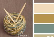 Color palettes and paint colors  / by Leslie Bencivenga