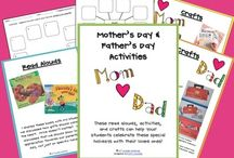 FREE Mother's & Father's Day Downloads  / FREE teacher-created items selected for Mother's Day and Father's Day / by TeachersPayTeachers