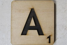 A - letter / by Anique Van Alst-Pfennings