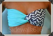 Swim wear/cover ups  / by Rissa Meadows