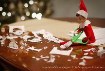 Elf on the shelf / by Susan Scilingo Pellegrino