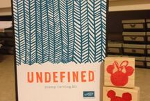 Undefined-Stamp Carving Kit / by Helen Jimenez