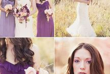 For michiganmom116 / Peach and Plum Calla Lillies and Roses Weddings / by Sonja Brow